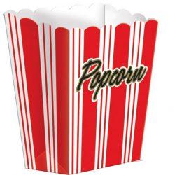 popcorn box red stripe