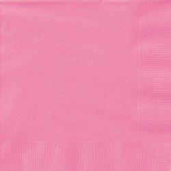 plain hot pink napkins