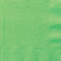 plain lime green napkins