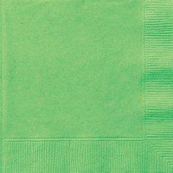 plain lime green napkins