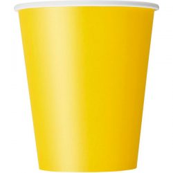 plain sunflower yellow cups