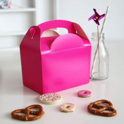party boxes pink