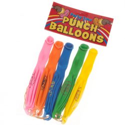 punch ball balloons