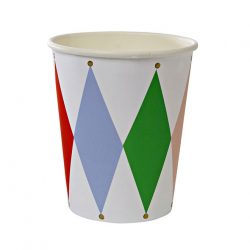 harlequin cups