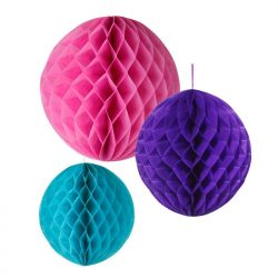 bright honeycomb party decorations assorted
