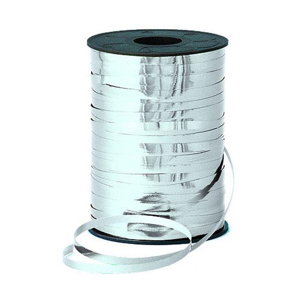 curling ribbon silver