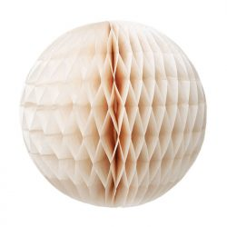 ivory honeycomb decoration
