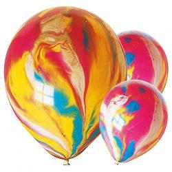 marble balloons