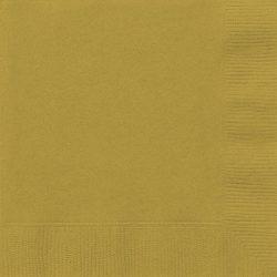 plain gold napkins