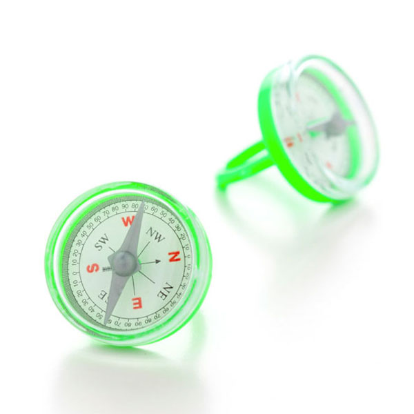 compass ring green