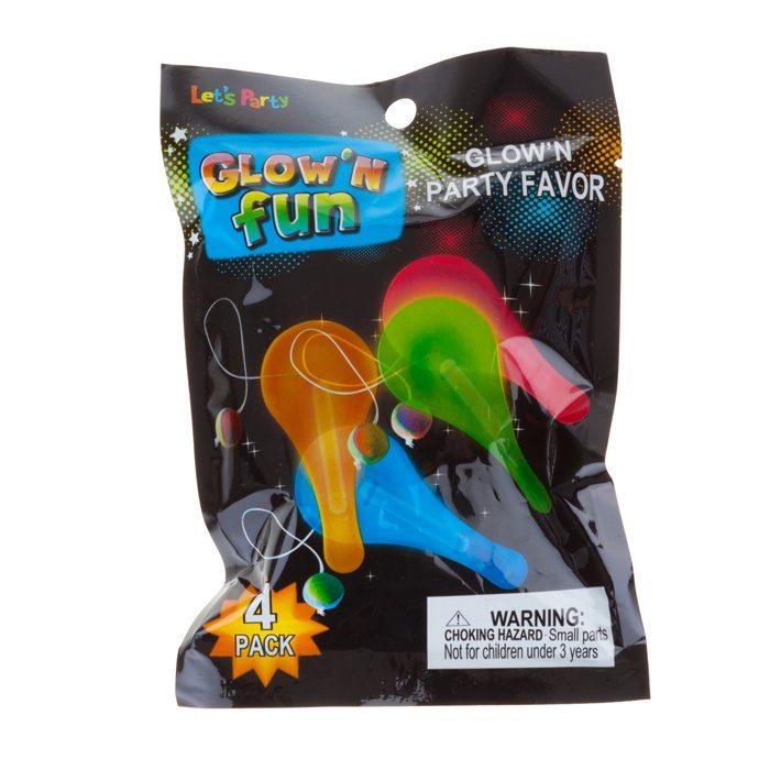 glow fun toys mini bat and ball