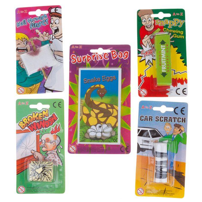 joke assortment party toys