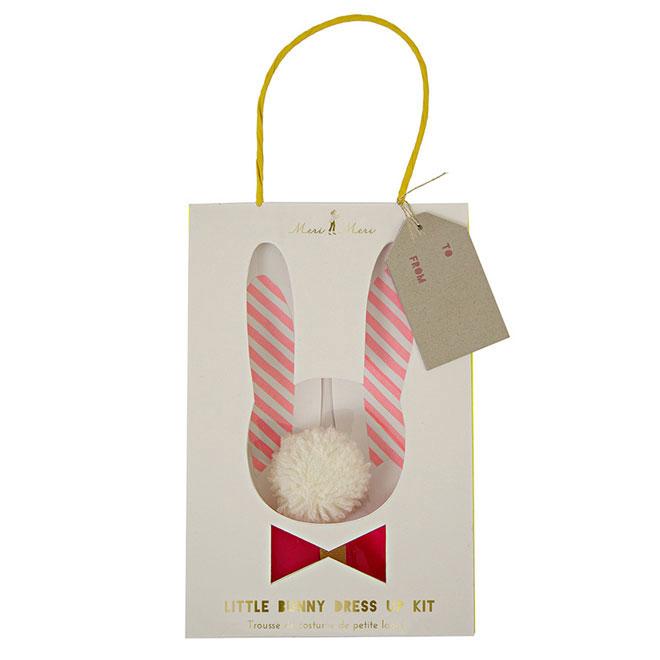 little bunny dress up kit