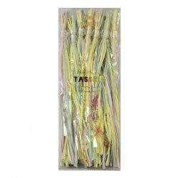 pastel party tassels in packaging