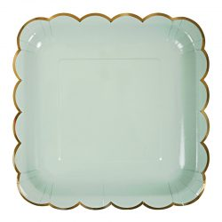 pastel plate