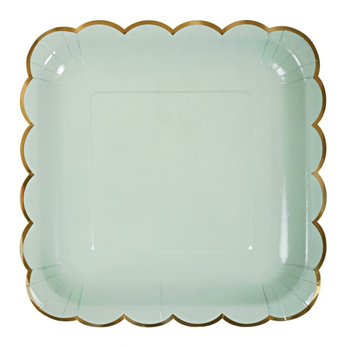 pastel plate