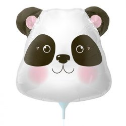 Small panda foil balloon