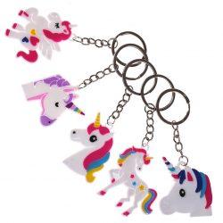 Unicorn keyrings designs