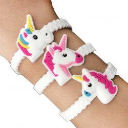 Unicorn Wristband on wrist