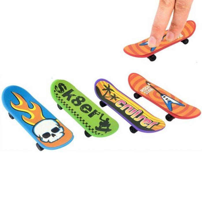 Finger skateboards