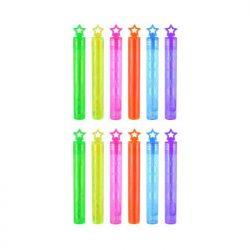 Neon bubble wands