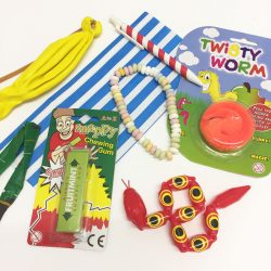 retro party bag fillers
