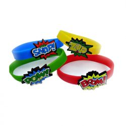 Superhero wristbands