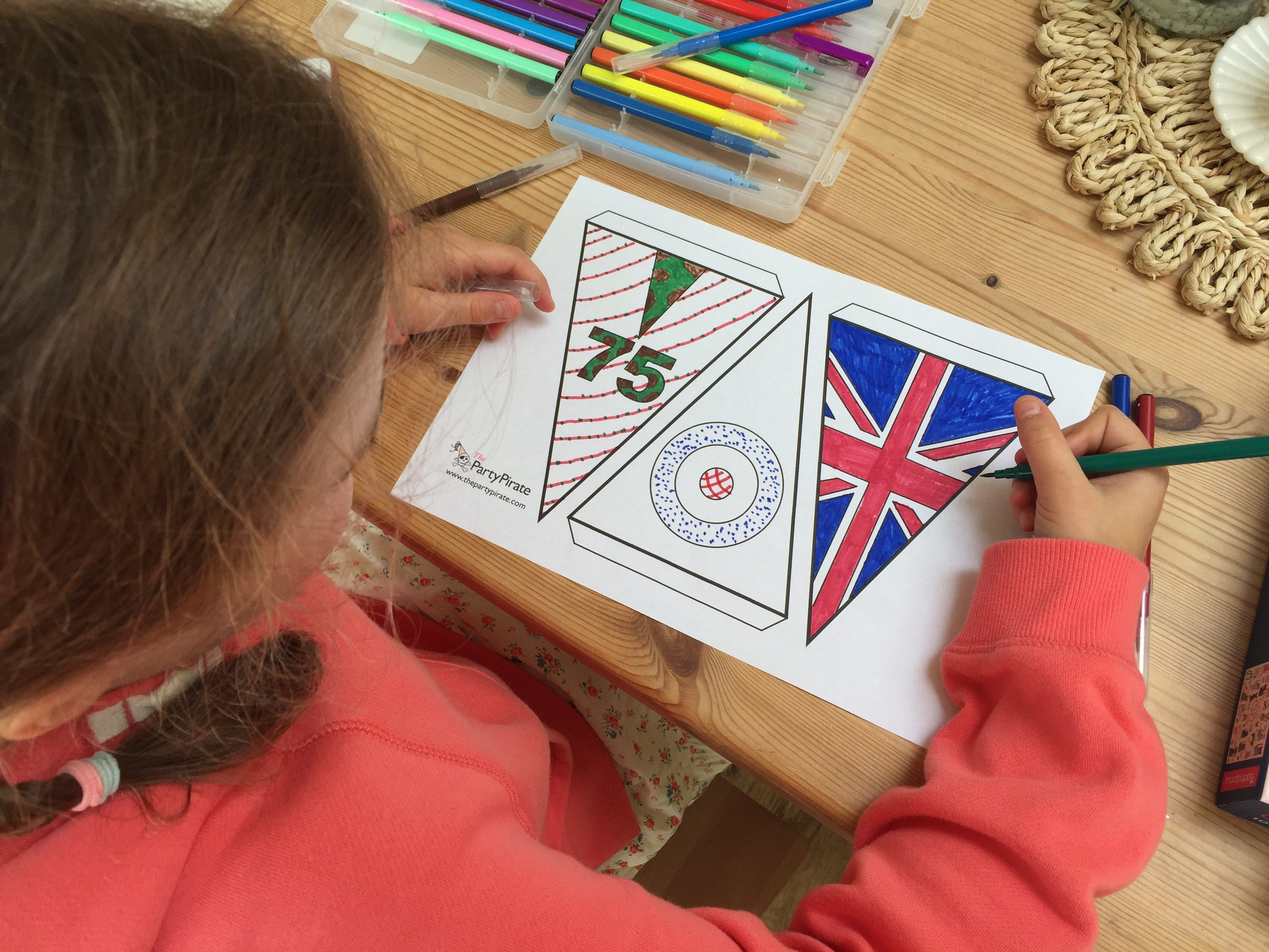 Printable VE Day Bunting