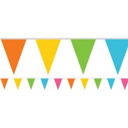 multi coloured bunting