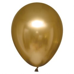 gold chrome balloon
