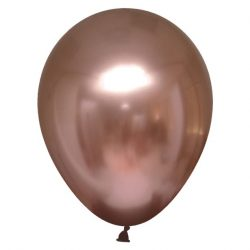 rose gold chrome balloon