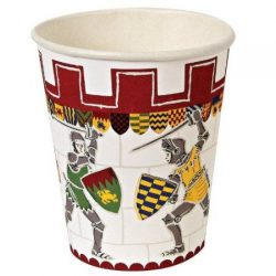 Brave Knight paper cup