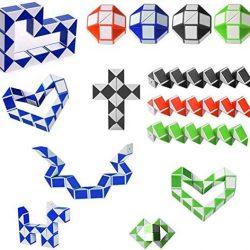 snake puzzle shapes