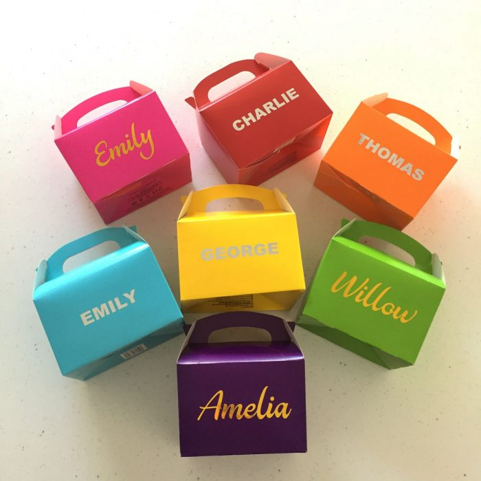 Personalised boxes