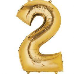 gold 2 balloon