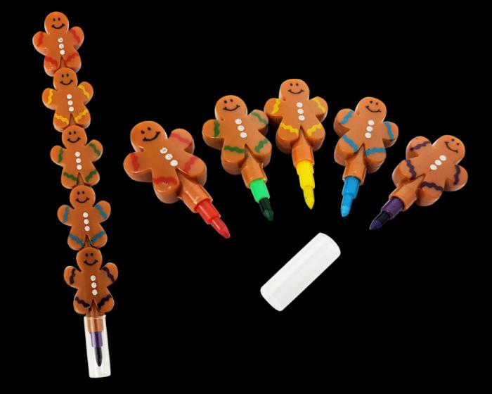 gingerbread crayon
