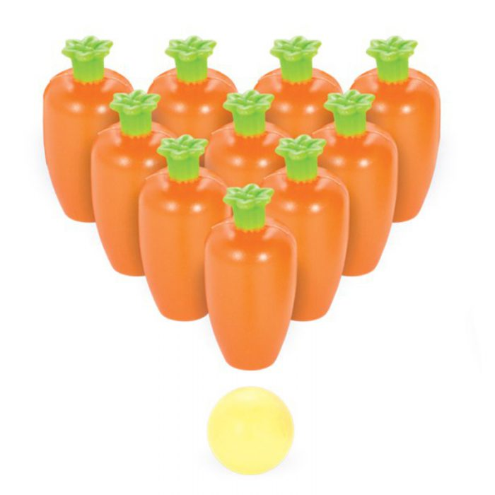 Carrot bowling game