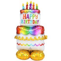 Giant cake balloon