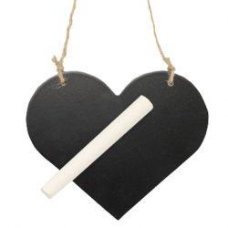 Chalkboard hearts