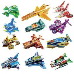 Cardboard spaceships