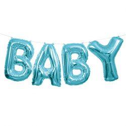 Blue Baby Balloon