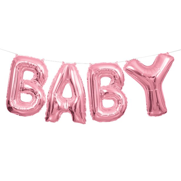 Pink Baby Balloon
