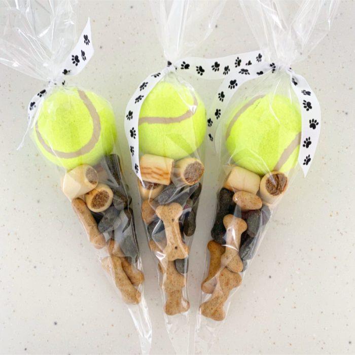 Dog treat cones