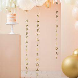 Happy birthday balloon tails