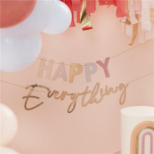 Happy everything banner