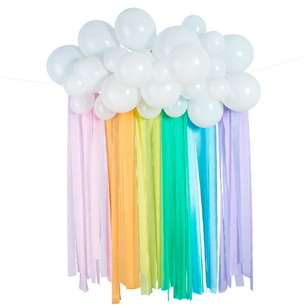 Rainbow Balloon Cloud
