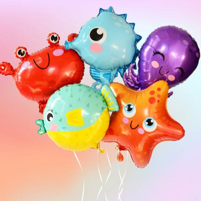 Sea Creature Balloons