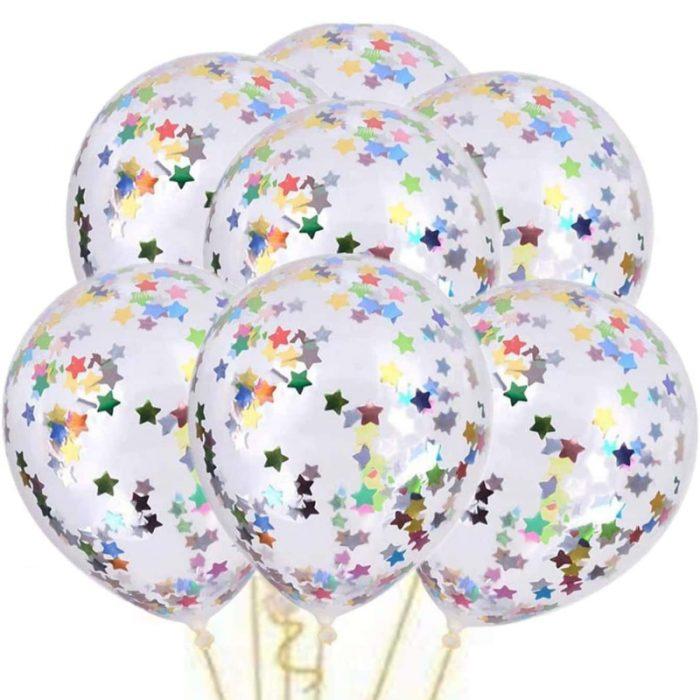 Star Confetti Balloons