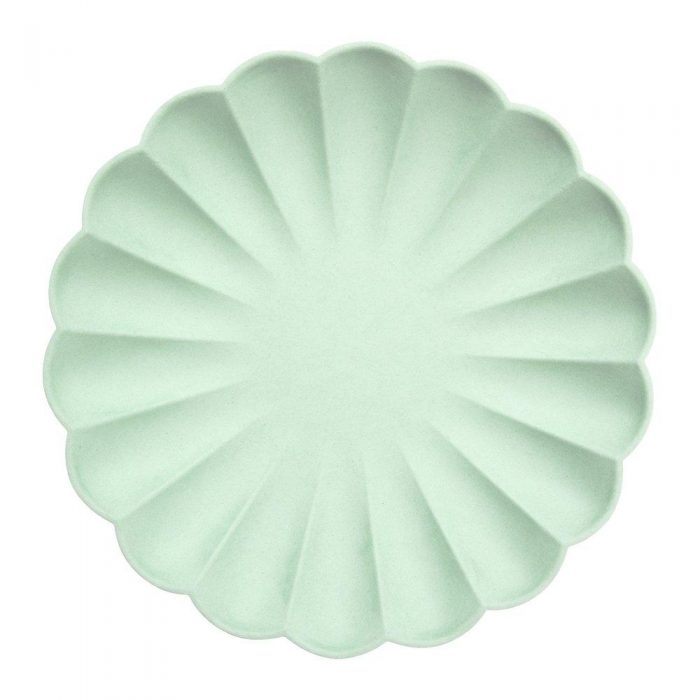 Mint Green Eco Plate