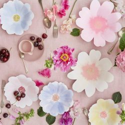 Flower Plate Table